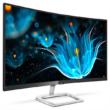 """Philips ívelt VA monitor 27"""" - 278E9QJAB/00,  1920x1080, 16:9, 250 cd/m2, 4ms, VGA, DP, HDMI, hangszóró, Freesync"""