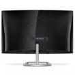 "Philips ívelt VA monitor 27"" - 278E9QJAB/00, 1920x1080, 16:9, 250 cd/m2, 4ms, VGA, HDMI, Displayport, hangszóró,Freesync"