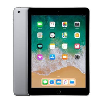 APPLE 9.7-inch, iPad 6, Cellular, 32GB - Space Grey (2018)