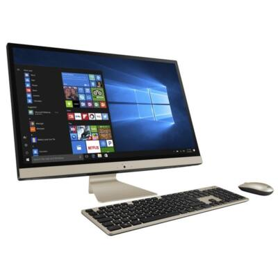 """ASUS AIO V272UNK-BA020D, 27"""" FHD, Intel Core i5-8250U(3,4GHz), 8GB, 1TB+128GB, NV MX150 2GB, NOOS, Fekete"""