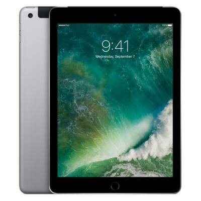 "Apple 9.7"" iPad Cellular 128GB - Space Grey (2017)"