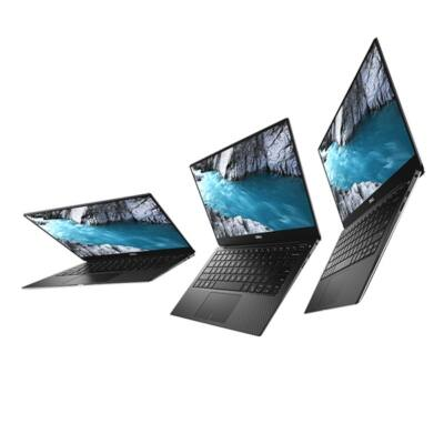 "Dell Xps 13 13,3"" UHD-t, Intel Core i7-8550U (4.0 GHz), 8GB, 256GB, Intel HD 620, Win.10 (9370) Hun Backlit Silver"