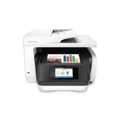 HP Tintasugaras MFP NY/M/S/F Officejet Pro 8720  e-AiO, USB/Háló/WLAN/NFC, A4 24l/p FF(ISO), 4800x1200, Síkágyas, ADF