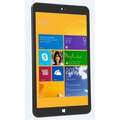 "KIANO SlimTab 8 MS TABLET PC 8"" 1280x800 IPS, Quad-Core 1,3 GHz Intel Atom Z3735F 1,3 GHz, 1GB RAM, 16GB flash, Windows"