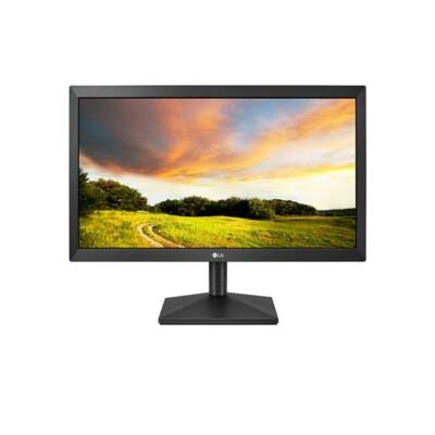 "LG Monitor 19,5"" - 20MK400H-B, 1366x768, 16:9, 200 cd/m2, 2ms, VGA, HDMI"