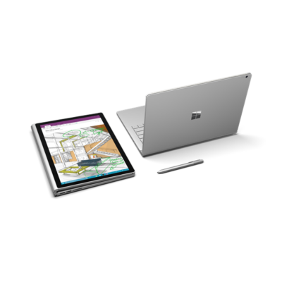 "Microsoft Surface Book 2 - 13.5"" - Core i7-8650U (8th Gen, GF GTX 1050 GPU w/2GB GDDR5) 8 GB RAM - 256 GB SSD Win 10 Pro"