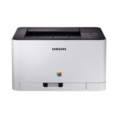 Samsung Color laser nyomtató SL-C430 18ppm/4ppm, 2400x600dpi, 64MB, 150 lap, USB 2.0